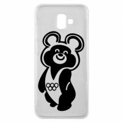 Чохол для Samsung J6 Plus 2018 Олімпійський Ведмедик