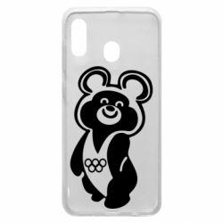 Чохол для Samsung A20 Олімпійський Ведмедик