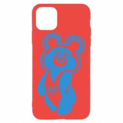 Чохол для iPhone 11 Pro Max Олімпійський Ведмедик