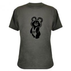 Камуфляжная футболка Олимпийский Мишка - FatLine