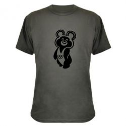 Камуфляжная футболка Олимпийский Мишка