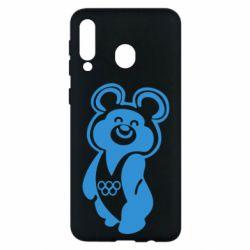 Чохол для Samsung M30 Олімпійський Ведмедик