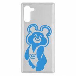 Чохол для Samsung Note 10 Олімпійський Ведмедик