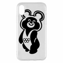 Чохол для iPhone X/Xs Олімпійський Ведмедик