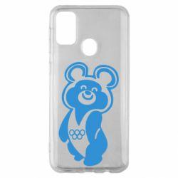 Чохол для Samsung M30s Олімпійський Ведмедик