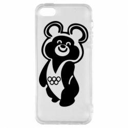 Чохол для iphone 5/5S/SE Олімпійський Ведмедик
