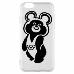 Чохол для iPhone 6/6S Олімпійський Ведмедик
