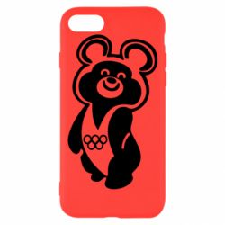 Чохол для iPhone 8 Олімпійський Ведмедик