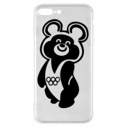 Чохол для iPhone 8 Plus Олімпійський Ведмедик
