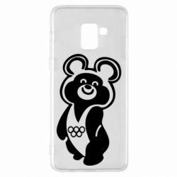 Чохол для Samsung A8+ 2018 Олімпійський Ведмедик