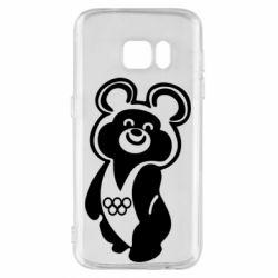 Чохол для Samsung S7 Олімпійський Ведмедик