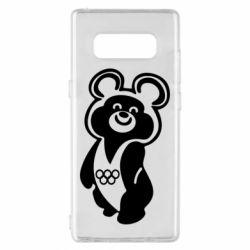 Чохол для Samsung Note 8 Олімпійський Ведмедик