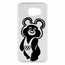 Чохол для Samsung S6 Олімпійський Ведмедик