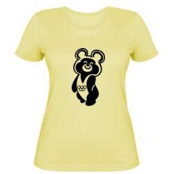 Женская Олимпийский Мишка - FatLine