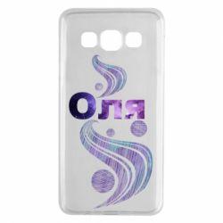 Чехол для Samsung A3 2015 Оля