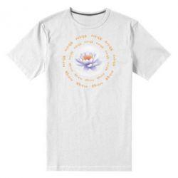 Чоловіча стрейчева футболка Om Mani Padme Hum