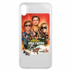 Чехол для iPhone Xs Max Once in Hollywood poster art