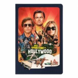 Блокнот А5 Once in Hollywood poster art