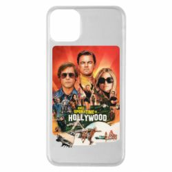 Чехол для iPhone 11 Pro Max Once in Hollywood poster art