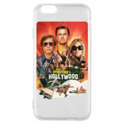 Чехол для iPhone 6/6S Once in Hollywood poster art