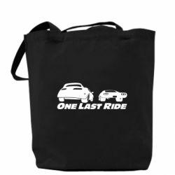 Сумка One last ride
