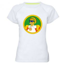 Жіноча спортивна футболка One love
