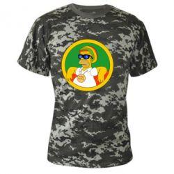 Камуфляжна футболка One love