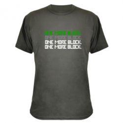 Камуфляжная футболка One more block - FatLine