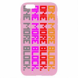 Чохол для iPhone 6 Plus/6S Plus One more block