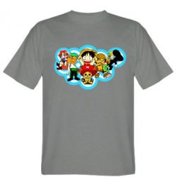Чоловіча футболка One piece anime heroes