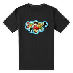 Чоловіча стрейчева футболка One piece anime heroes