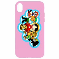 Чохол для iPhone XR One piece anime heroes