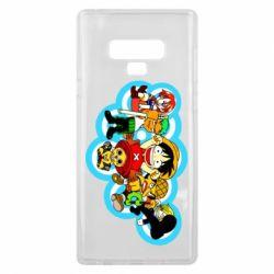 Чохол для Samsung Note 9 One piece anime heroes