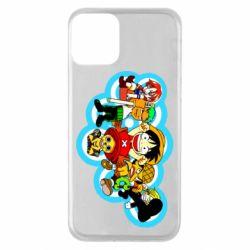 Чохол для iPhone 11 One piece anime heroes