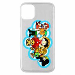 Чохол для iPhone 11 Pro One piece anime heroes