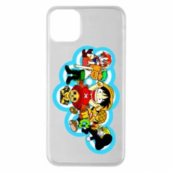 Чохол для iPhone 11 Pro Max One piece anime heroes