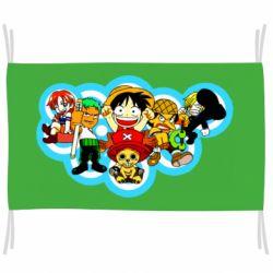 Прапор One piece anime heroes