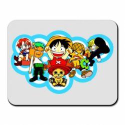 Килимок для миші One piece anime heroes