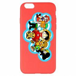 Чохол для iPhone 6 Plus/6S Plus One piece anime heroes