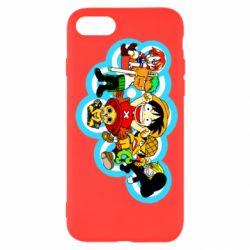 Чохол для iPhone 7 One piece anime heroes