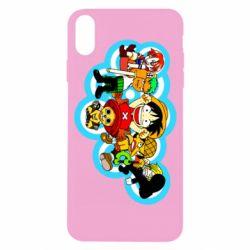 Чохол для iPhone X/Xs One piece anime heroes