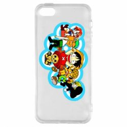 Чохол для iphone 5/5S/SE One piece anime heroes