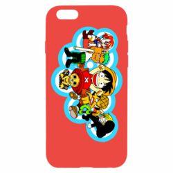 Чохол для iPhone 6/6S One piece anime heroes