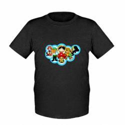 Дитяча футболка One piece anime heroes