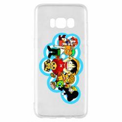 Чохол для Samsung S8 One piece anime heroes