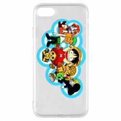 Чохол для iPhone 8 One piece anime heroes