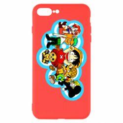 Чохол для iPhone 8 Plus One piece anime heroes