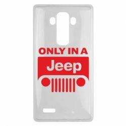 Чехол для LG G4 Only in a Jeep - FatLine