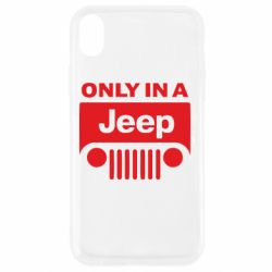 Чехол для iPhone XR Only in a Jeep