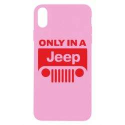 Чехол для iPhone Xs Max Only in a Jeep